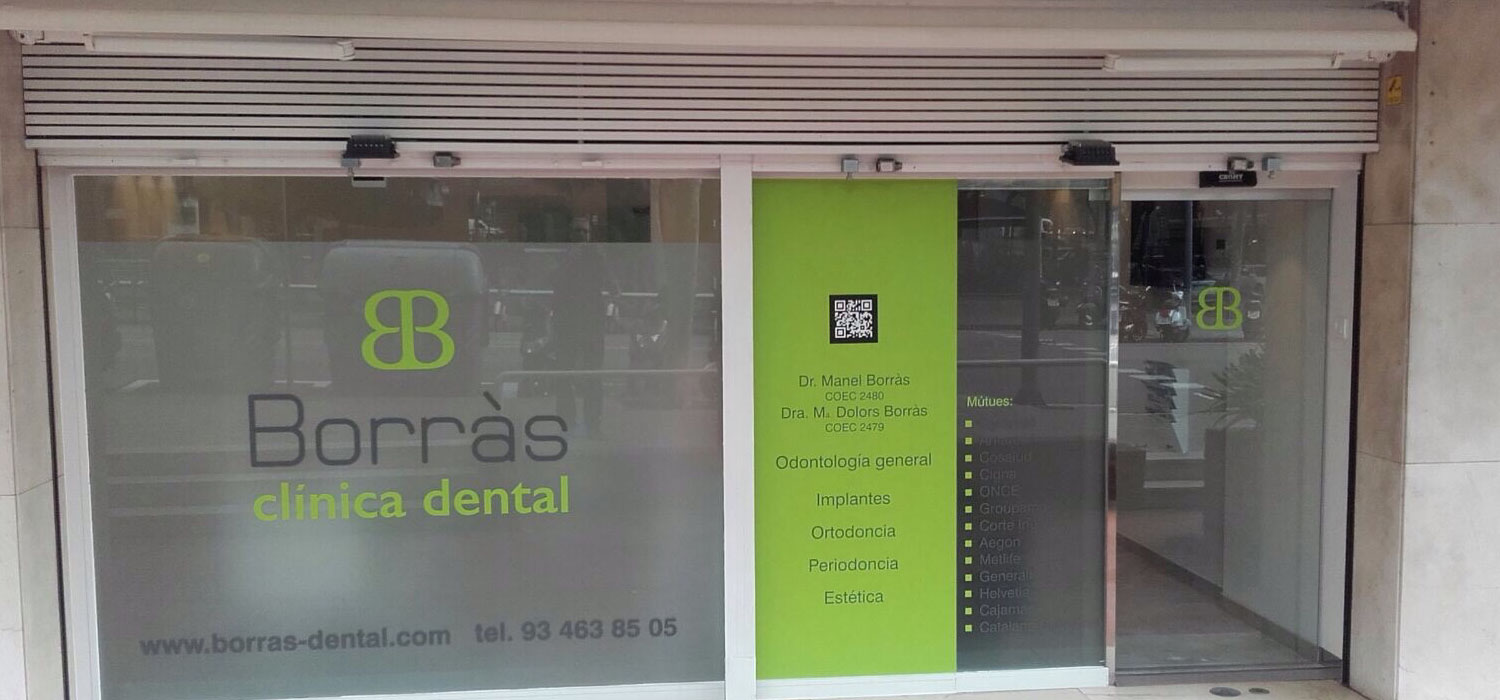 Exterior Borrás clinica dental